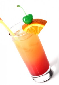 southern sex on the beach drink in Florida