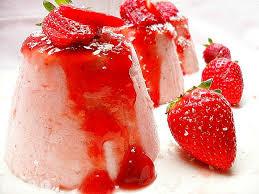 Flan-de-fresas