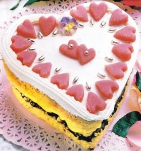 Pastel-de-San-Valentin