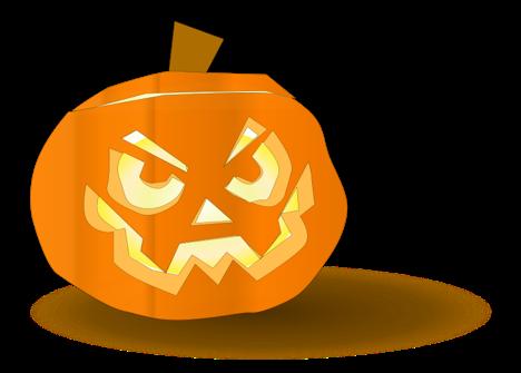 Don postre postres para halloween - Calabazas de halloween de miedo ...