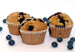 muffin-arandanos