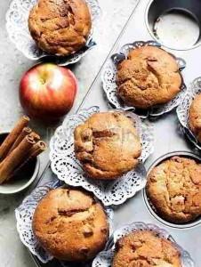 muffins-miel-manzana