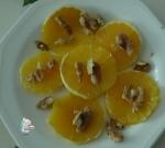 naranja y nueces
