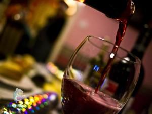 vino-carne roja
